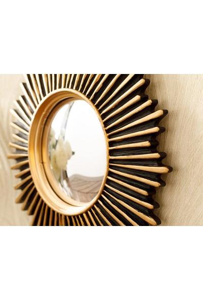 English Home Twist Polyresin Ayna 20 x 1,8 cm Gold