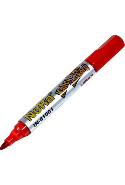 Nora CD Kalemi Kalıcı Marker Keçeli Kalem Kırmızı