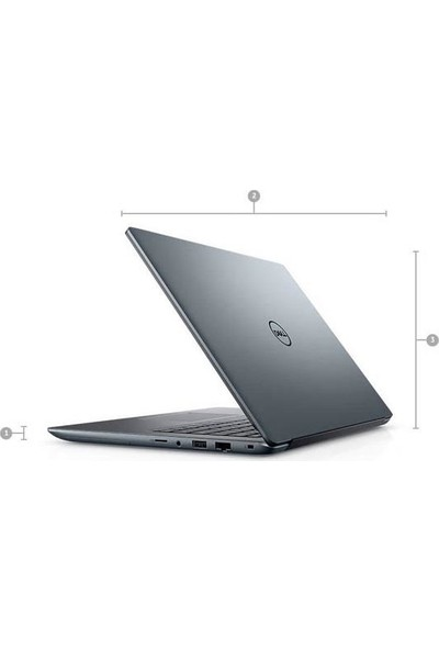 "Dell Vostro 5490 Intel Core I5 10210U 8GB 256GB SSD MX230 Windows 10 Pro 14"" FHD Taşınabilir Bilgisayar N4105VN5490EMEA_W"