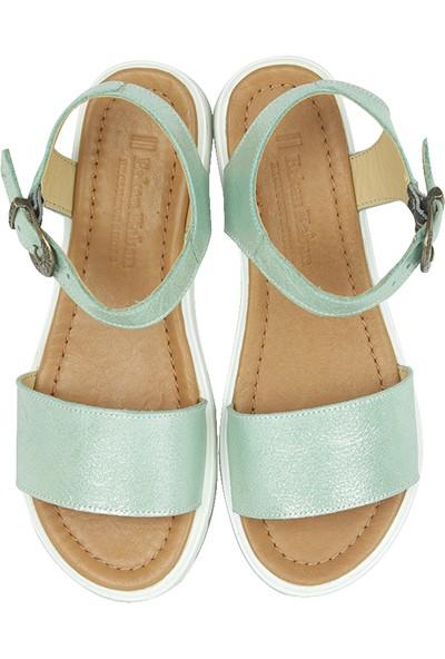 Erkan Kaban 1599 672 Kadın Su Yeşili Sandalet