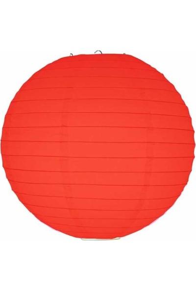 Kikajoy Kırmızı Kağıt Dekor Fener 20 cm