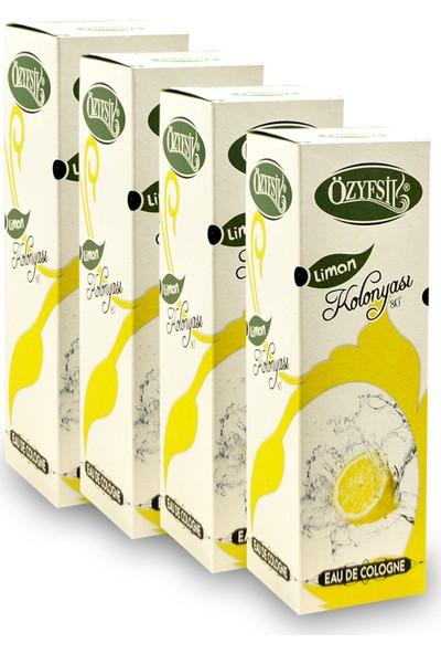 Özyeşil Limon Kolonyası 80°c 200 ml x 4 Adet