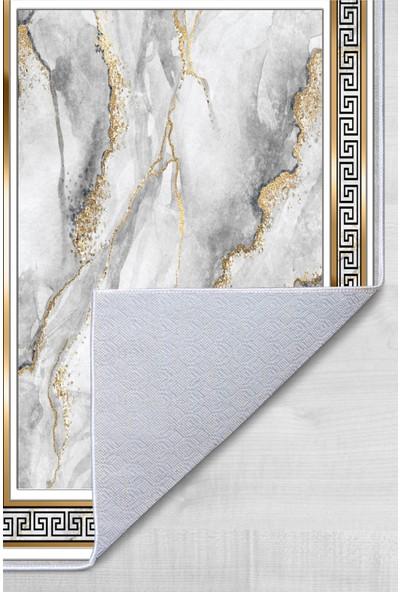 Colizon 60 x 90 cm - 50 x 60 cm Dijital Banyo Halısı Kaymaz Tabanlı Klozet Takımı 2'li TYKDB-2413