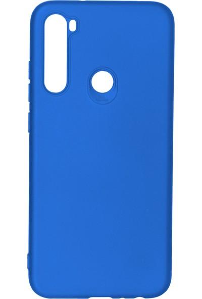 Fibaks Xiaomi Redmi Note 8 Kılıf Kamera Korumalı İnce Yumuşak Mat Silikon