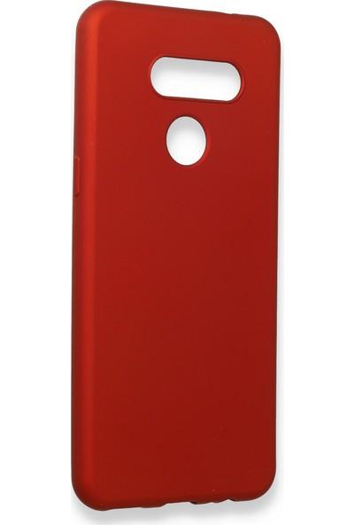 Fibaks LG K50S Kılıf Kamera Korumalı İnce Yumuşak Mat Silikon