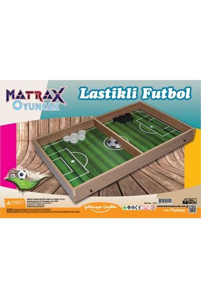 Akçiçek Oyuncak Matrax Ahşap Lastikli Futbol Oyunu