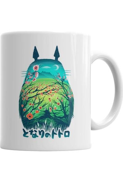 Baskı Dükkanı Totoro 01 Kupa Bardak Porselen