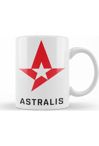 Baskı Dükkanı Csgo Astralis Kupa Bardak Porselen