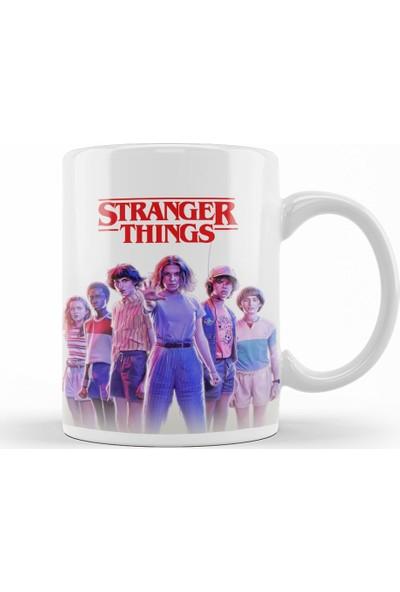 Baskı Dükkanı Stranger Things 0 Kupa Bardak Porselen