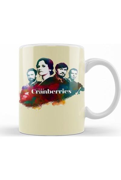 Baskı Dükkanı Cranberries Kupa Bardak Porselen