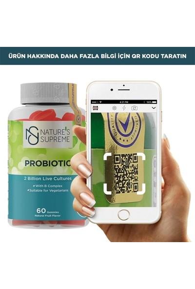 Nature's Supreme Probiotic 60 Çiğnenebilir Form