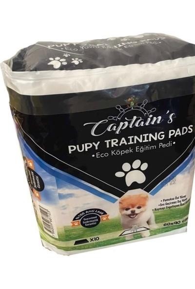 Captain's Premium Köpek Çiş Eğitim Pedi 60 x 90 cm 10'lu Paket