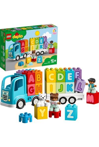 LEGO® DUPLO 10915 Alfabe Kamyonu Yapım Seti - Okul Öncesi Çocuk için Öğretici Oyuncak