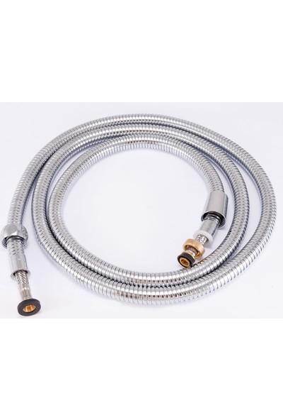 Lavella Çelik (Patlamaz) Spiralli Mafsallı El Duşu LVM04