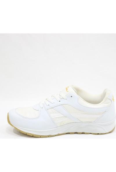 Texin Beyaz Paraşüt Spor Ayakkabı
