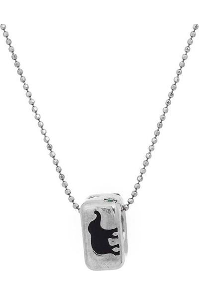 Masaliko Şanş Gümüş Kolye