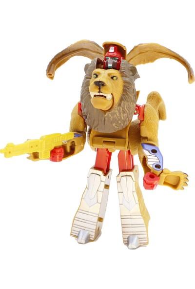 Mega Dönüşen Robo-Hayvanlar Aslan