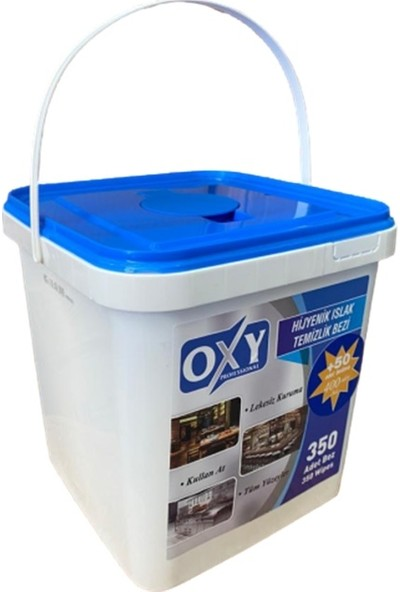 Oxy Professional Hijyenik Islak Temizlik Bezi 350 + 50 Yaprak
