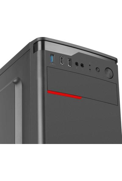 Go Gamer GS3 Intel Pentium G5400 8GB 240GB SSD RX550 Freedos Masaüstü Oyuncu Bilgisayarı