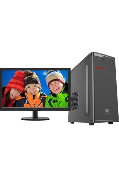"Go Gamer GS2D Intel Pentium G5400 8GB 1TB + 120GB SSD GT1030 Freedos 21.5"" FHD Masaüstü Oyuncu Bilgisayarı"