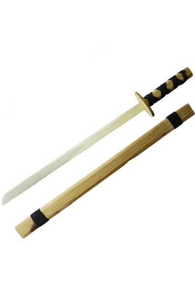 Toptan Hediyeci Ahşap Japon Samuray Katana Kılıcı Büyük Boy