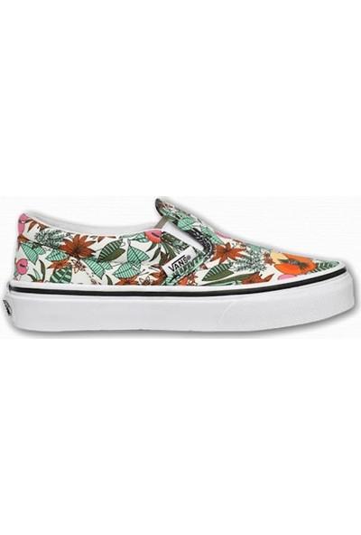Vans Classic Slip-On Multi Tropic Kız Çocuk Sneaker