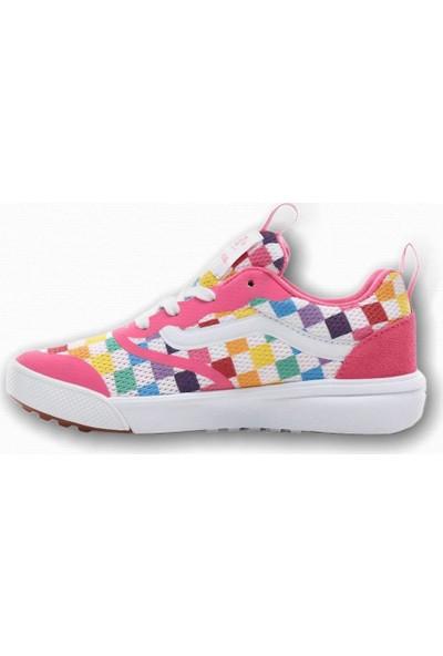 Vans Ultra Range Rapidweld Checkerboard Kız Çocuk Sneaker