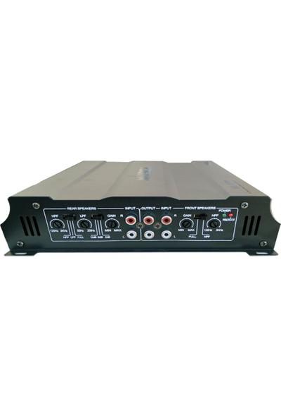 Musica Ms 6400 - 4X50 W Rms 2400W 4 Kanal Oto Amfi