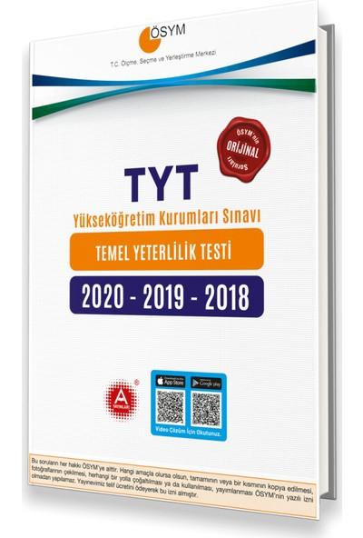 A Yayınları Ösym 2020-2019-2018 TYT Tıpkı Basım Çıkmış Sorular