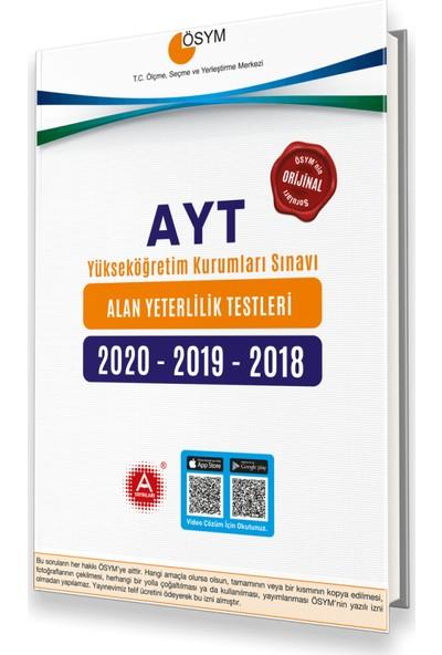 A Yayınları Ösym 2020-2019-2018 AYT Tıpkı Basım Çıkmış Sorular