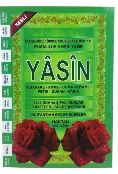 Haktan Yayınları 80 Sayfa Orta Boy Yeşil Yasin Kitabı