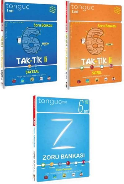 Tonguç Akademi 6. Sınıf Taktikli Sayısal Sözel ve Zoru Soru Bankası Seti 3 Kitap