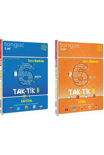 Tonguç Akademi 6. Sınıf Taktikli Sayısal + Sözel Soru Bankası Seti 2 Kitap