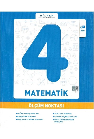 Bilfen Yayınları 4. Sınıf Matematik Ölçüm Noktası 2020