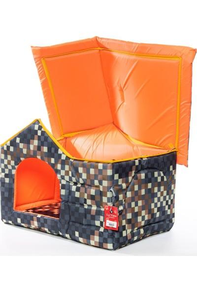 Lavista Çatılı Kedi Köpek Evi