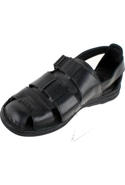 Faruk Karar 2016 Deri Erkek Sandalet