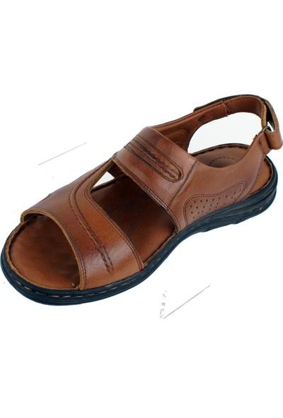 Faruk Karar 2022 Deri Erkek Sandalet