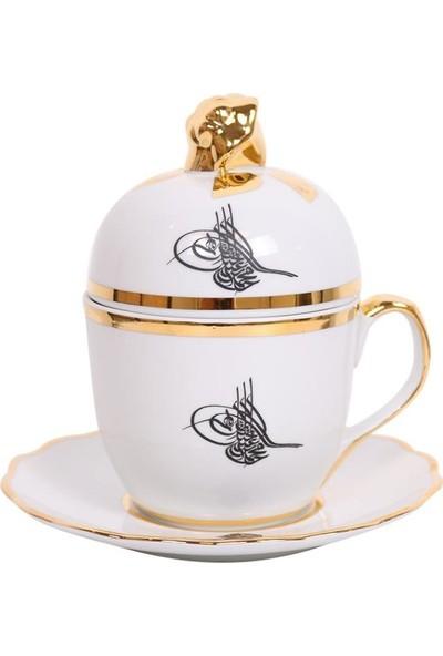 Nilhan Sultan Osmanlı Tuğralı Aşure Kupası