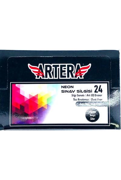Fortis Artera Hat Neon Renkler Sınav Silgisi Orta Boy 24'lü