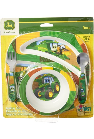 John Deere's Johnny Tractor And Friends Beslenme Seti