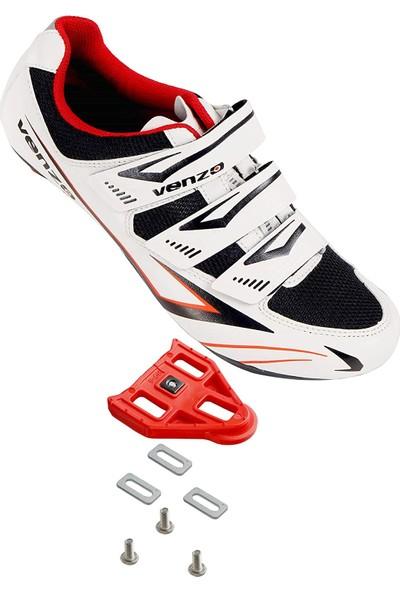 Venzo Bicycle Unisex Bisiklet Ayakkabısı