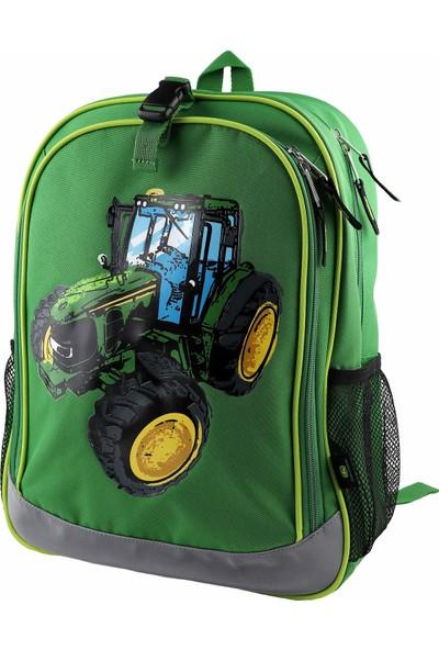 John Deere Traktör Sırt Çantası Yeşil - LP74364
