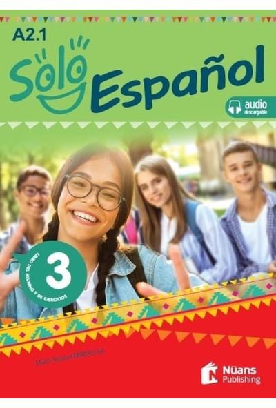 Solo Español 3 (A2.1) Libro Del Alumno Y De Ejercicios +Audio Descargable - María Teresa Ferrero Gil
