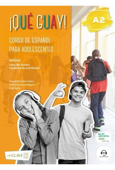¡Qué Guay! A2 (Libro Del Alumno + Actividades) - Ezgi Seçik