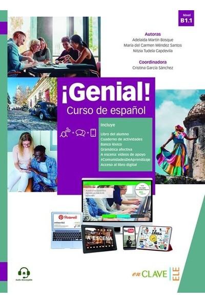 ¡Genial! B1.1 Libro Del Alumno+Cuaderno +Audio Descargable - Maria Del Carmen Mendez Santos