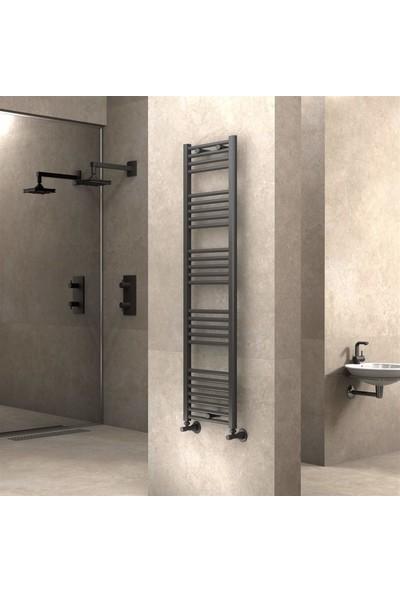 Radiva banyo ve Mutfak Için Havlupan 400 X 1500 cm Düz Antrasit