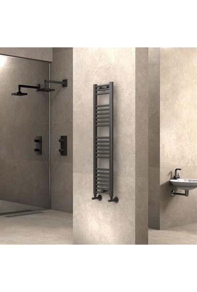 Radiva banyo ve Mutfak Için Havlupan 300 X 1200 cm Düz Antrasit