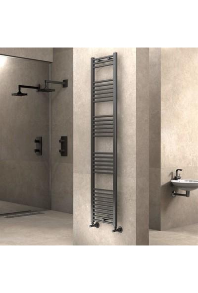 Radiva banyo ve Mutfak Için Havlupan 400 X 1800 cm Düz Antrasit