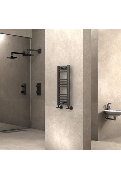 Radiva banyo ve Mutfak Için Havlupan 300 x 700 cm Düz Antrasit