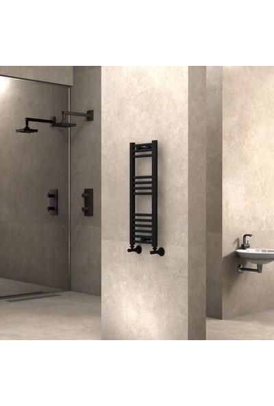 Radiva banyo ve Mutfak Için Havlupan 300 X 800 cm Düz Mat Siyah